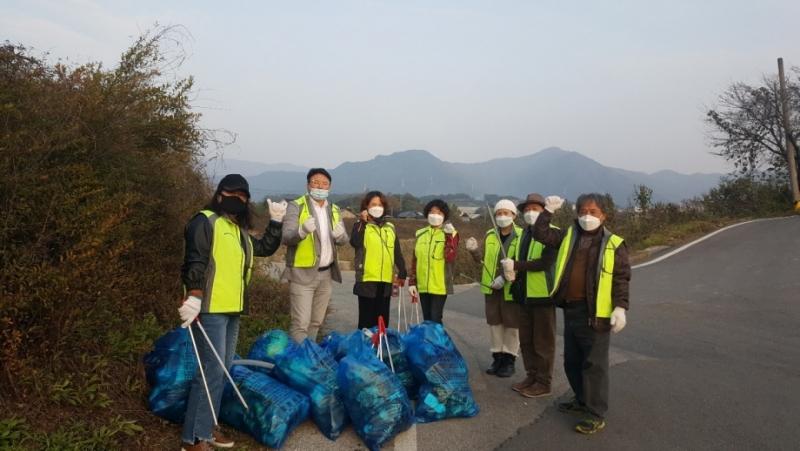 영중면 주민자치위원회, 환경정화 활동 전개